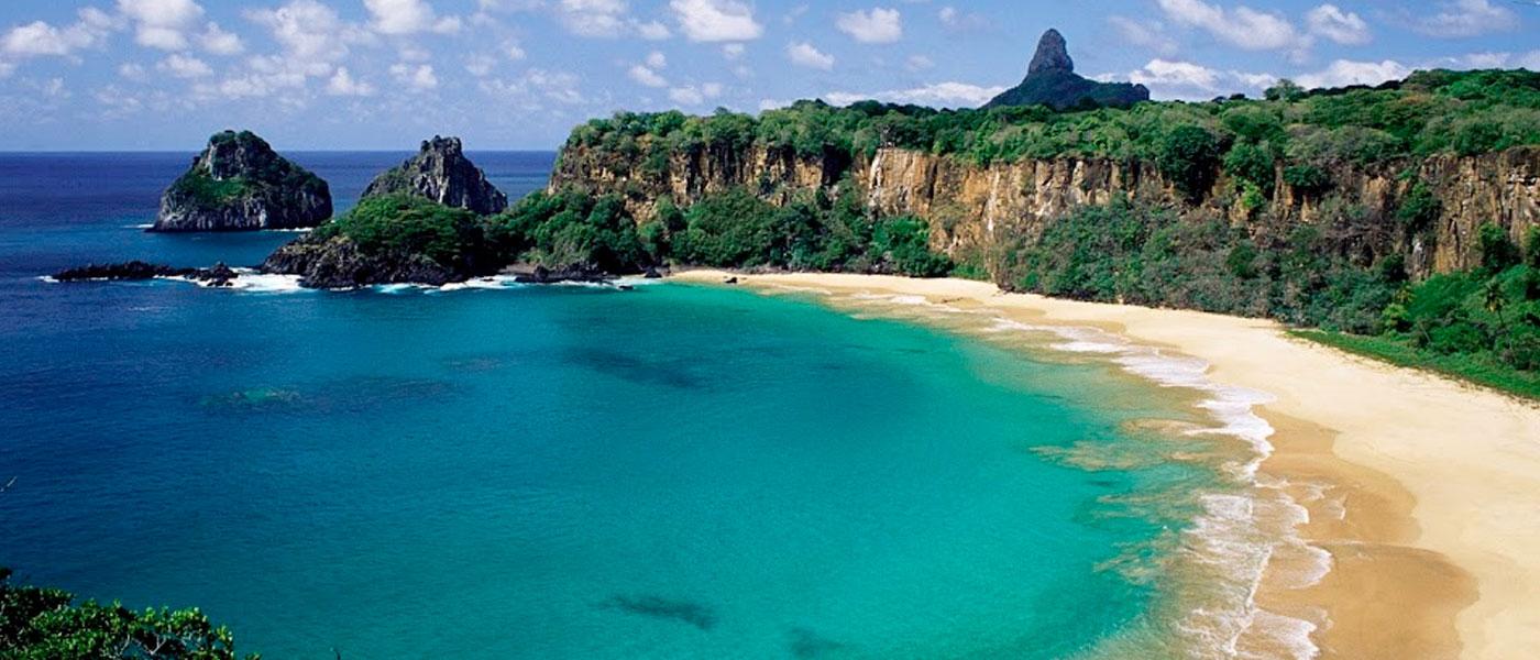 Sancho Beach in Fernando de Noronha, Brazil