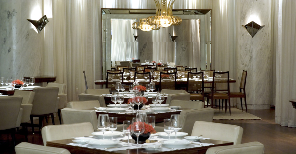 Fasano Al Mare sea food restaurant of Hotel Fasano Rio in Brazil