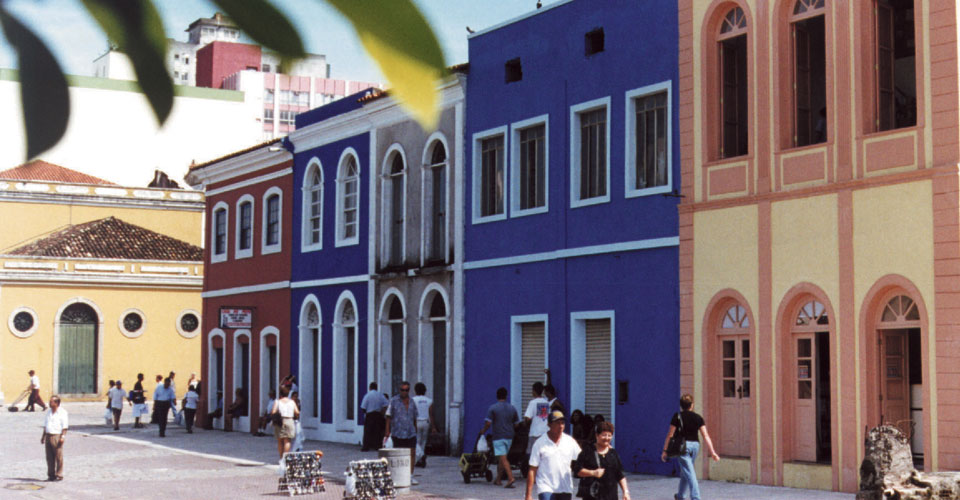Historical centre of Florianopolis, State of Santa Catarina in Brazil