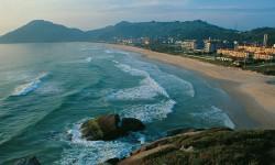 Santinho beach in Florianopolis, State of Santa Catarina in Brazil