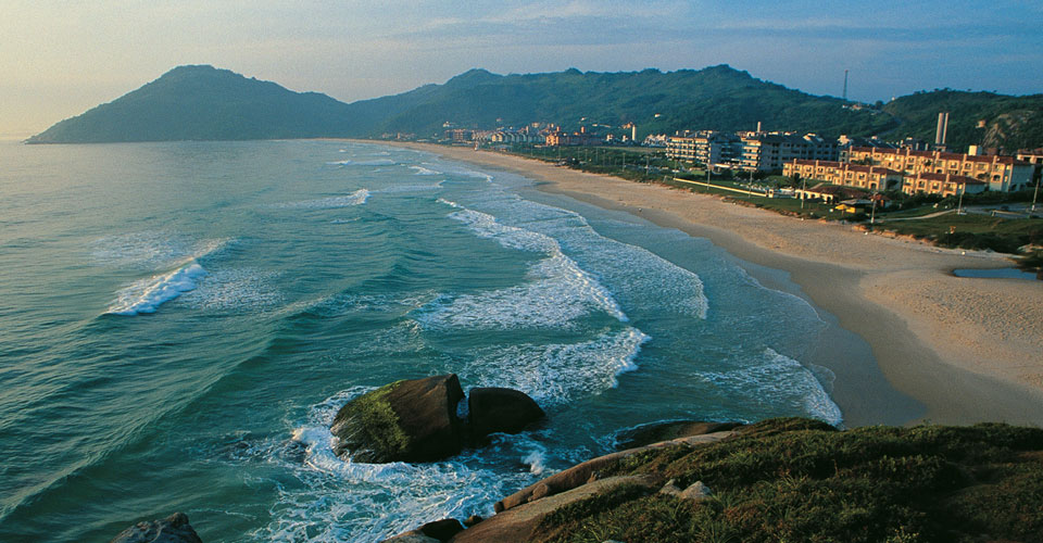 Santinho beach in Florianopolis, State of Santa Catarina in Brazil