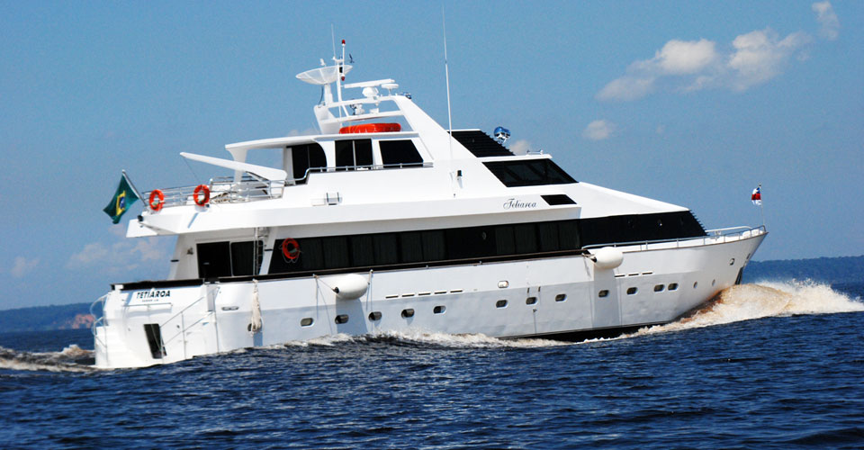 Tetiaroa, Luxury Amazon Private Yacht