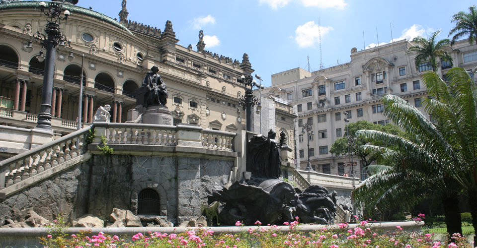 Theatro Municipal, Sao Paulo in Brazil