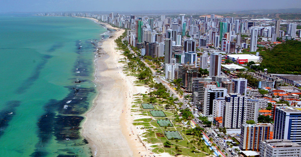 Boa Viagem Beach, Recife in Brazil