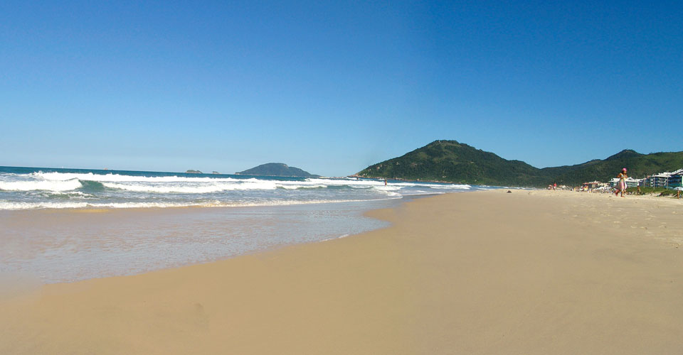 Brava Beach, Florianopolis, State of Santa Catarina in Brazil