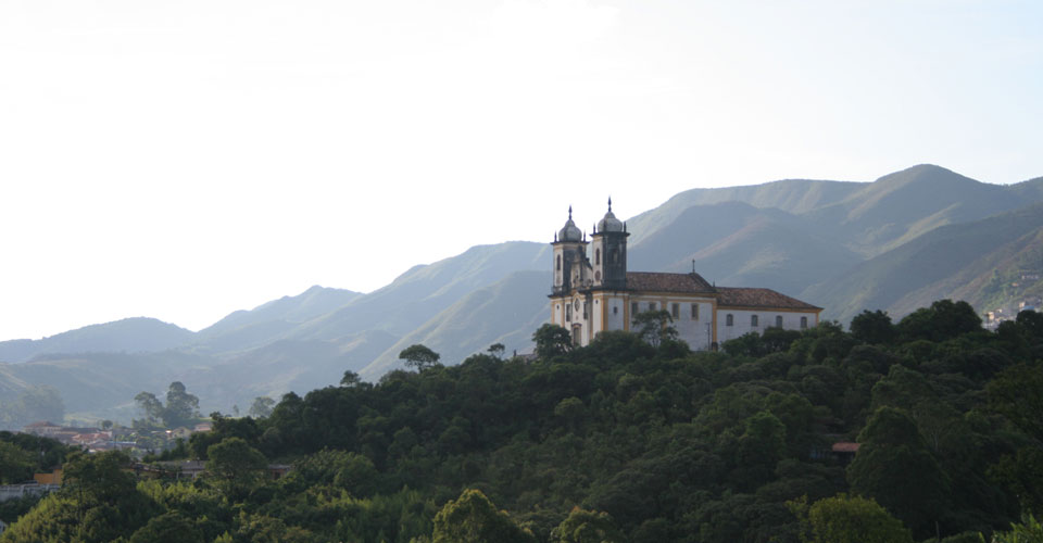 Francisco de Paula Church in Ouro Preto, Minas Gerais, Brazil