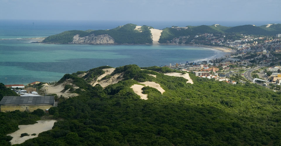 Parque das Dunas in Natal, Rio Grande do Norte in Brazil