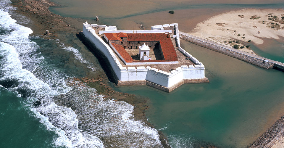 The Reis Magos fortress in Natal, Rio Grande do Norte, Brazil