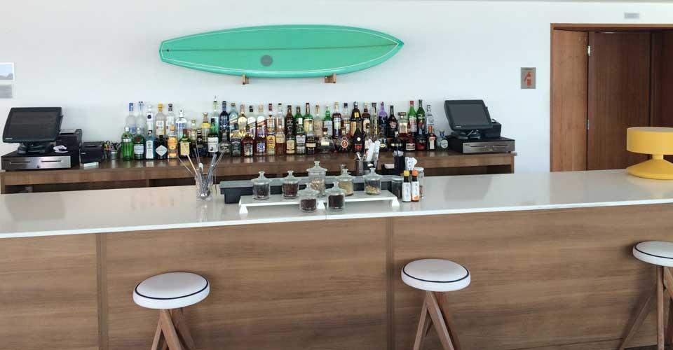 pool bar from Hotel Caesar Park by Sofitel in Rio de Janeiro, Brazil