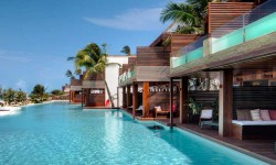 A gorgeous pool at the Hotel Essenza Jericoacoara in Brazil