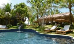 Pool at the Butterfly House in Marau,Bahia in Brazil