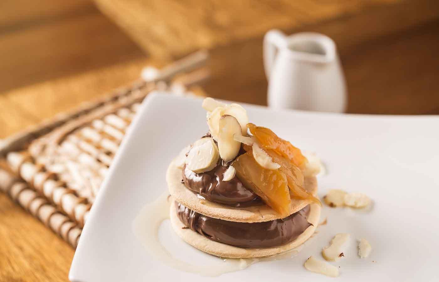 a refined chocolate dessert from Mirante-do-Gaviao in Amazonas, Brazil