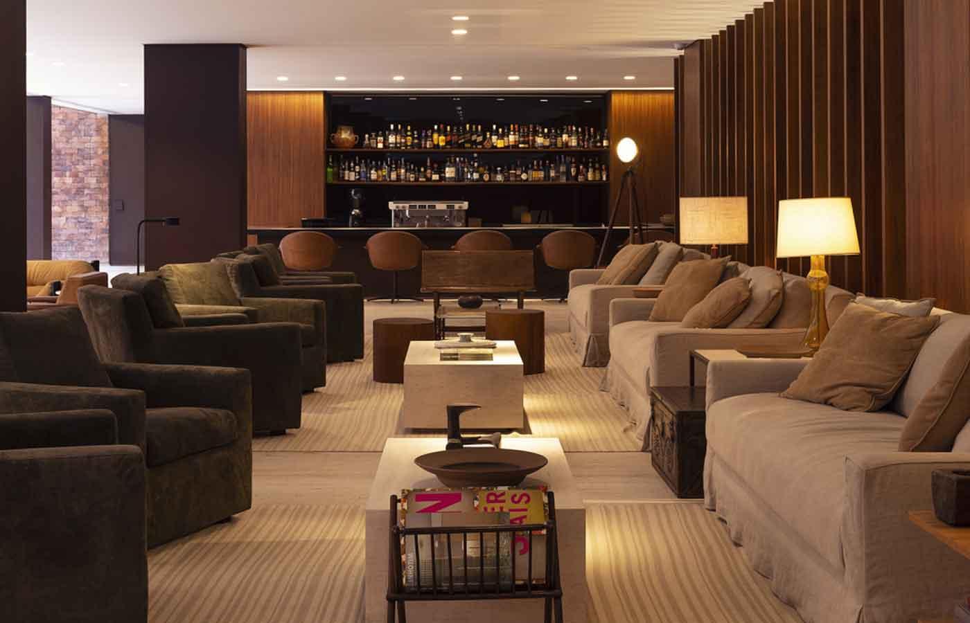 Hotel Fasano Belo Horizonte- lobby