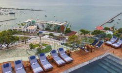 Hotel Fasano Salvador in Brazil- rooftop pool with sea view
