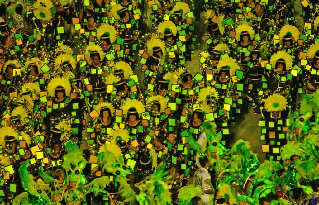 Rio carnival 2020 Sambodrome Brazil tickets and costumes