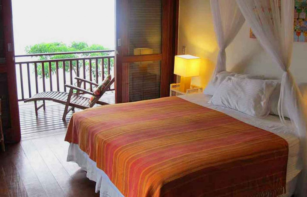 Casa-Cairucu bedroom -Paraty -Brazil