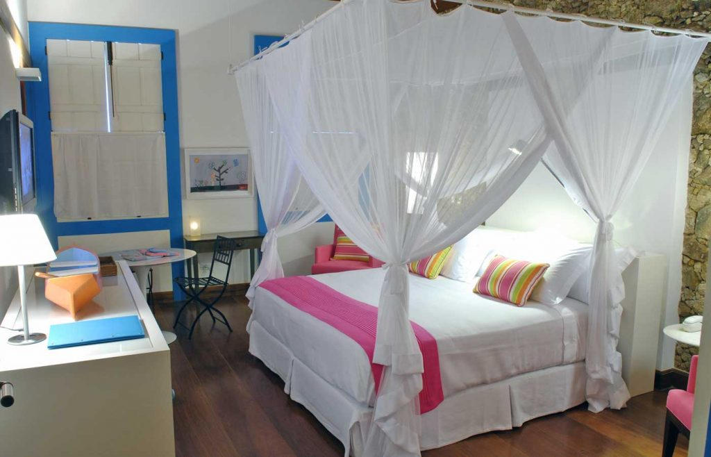 Casa-Turquesa- bedroom boutique hotel in Paraty - Brazil