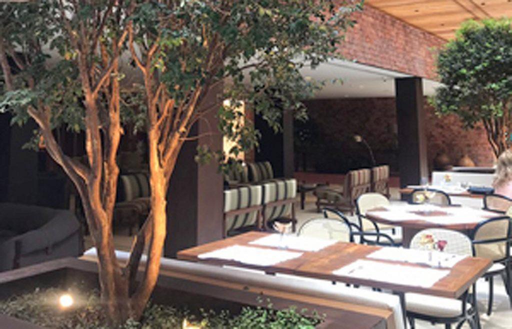 Restaurant  at the Luxury Hotel Fasano Belo Horizonte in Brazil