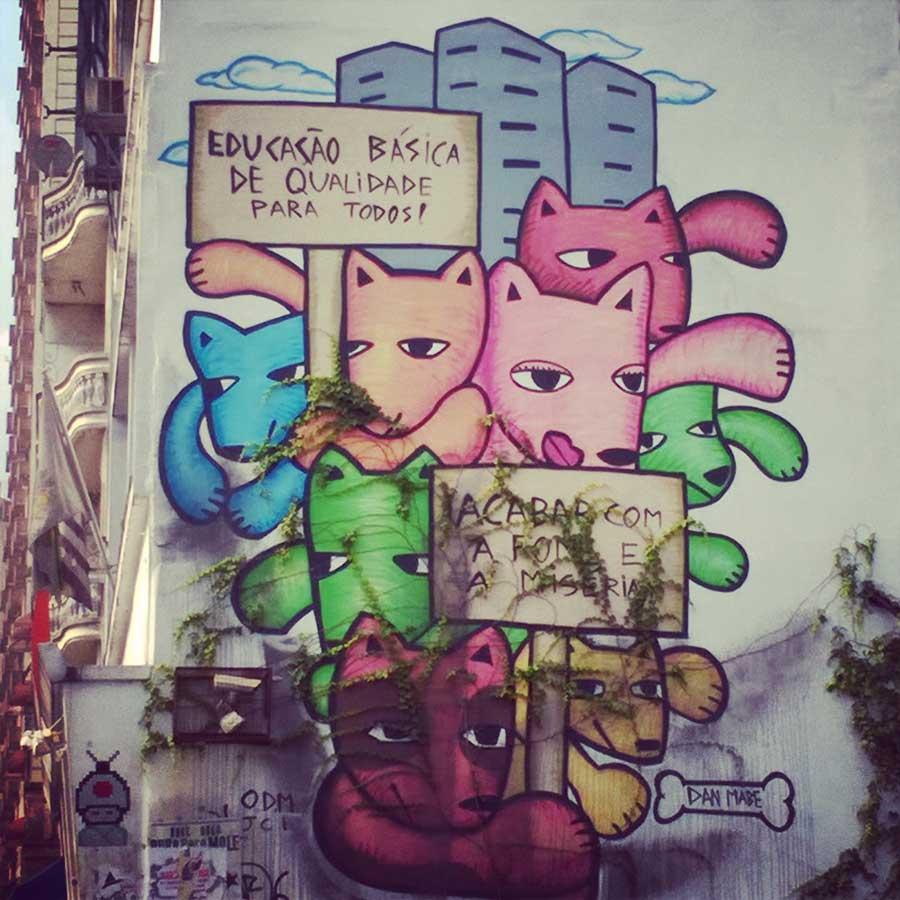 Liberdade-Art in Sao Paulo Brazil
