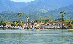 FLIP seaside colonial and charming town Paraty in Brazil