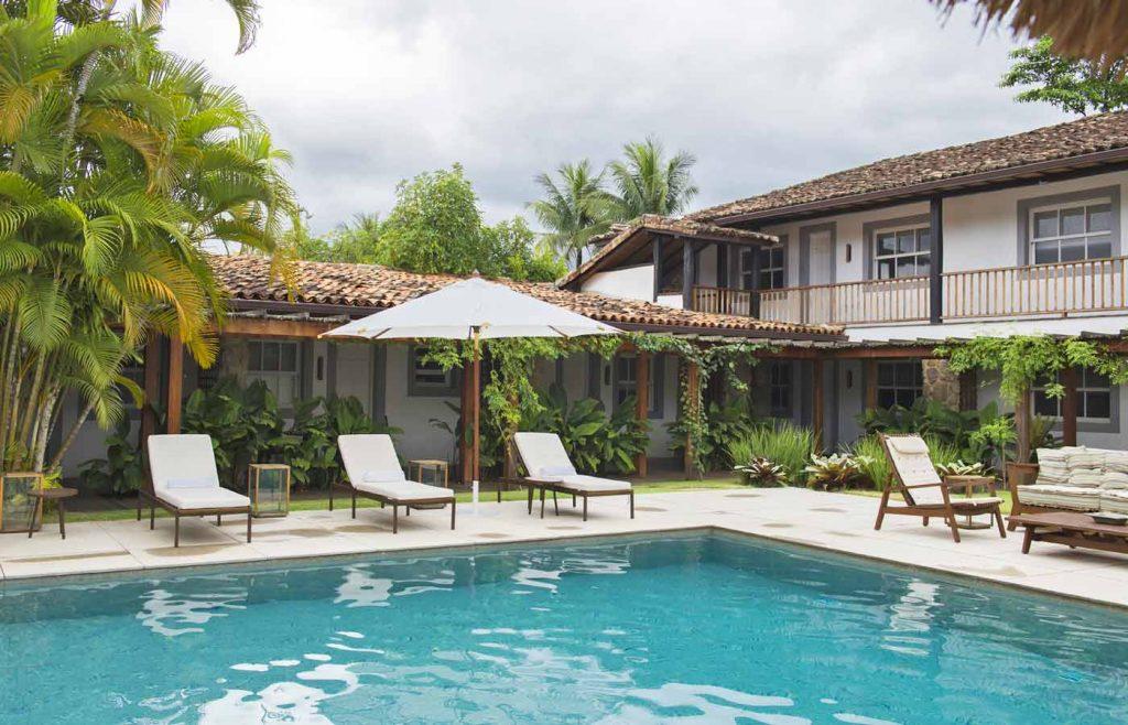pousada-literaria- pool view -luxury-hotel-paraty-brazil