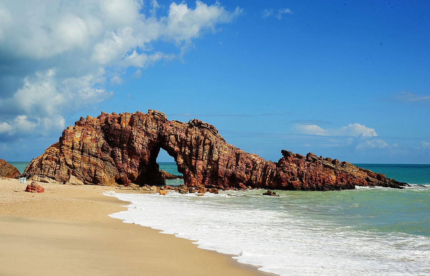 The Pedra Furada, Jericoacoara, Brazil