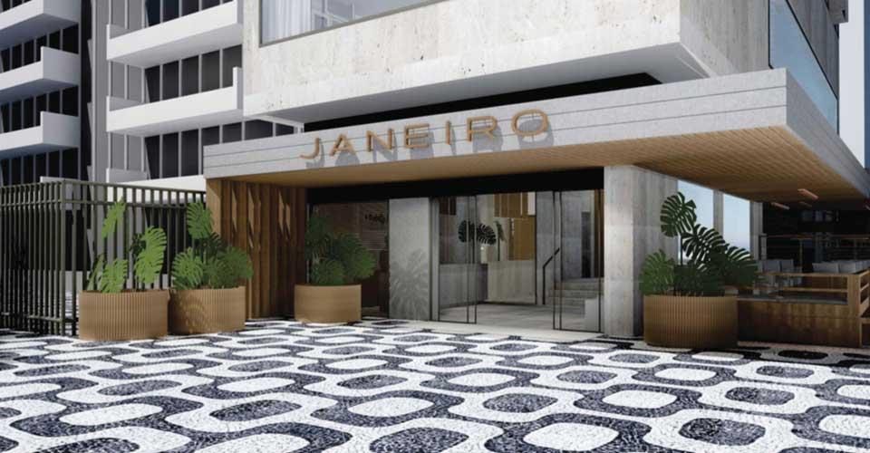 Polished property of Janeiro Hotel in chic quarter of Leblon, Rio de Janeiro, Brazil