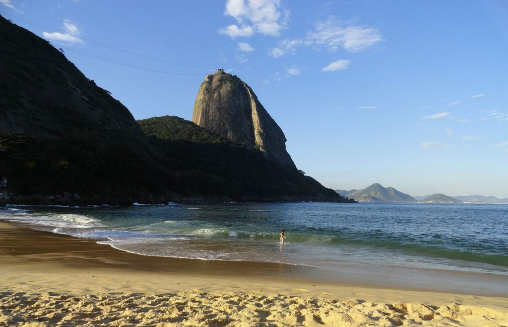 Sugarloaf mountain offers some of the best views of Rio from the top of the cable car line.
