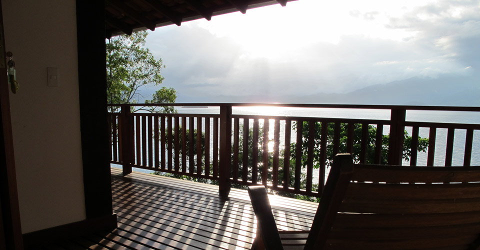 View from Casa Cairucu terrace