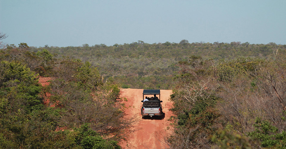 A jeep eco-safari at Pousada Trijuncao