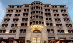 The elegant facade of the Fasano Salvador