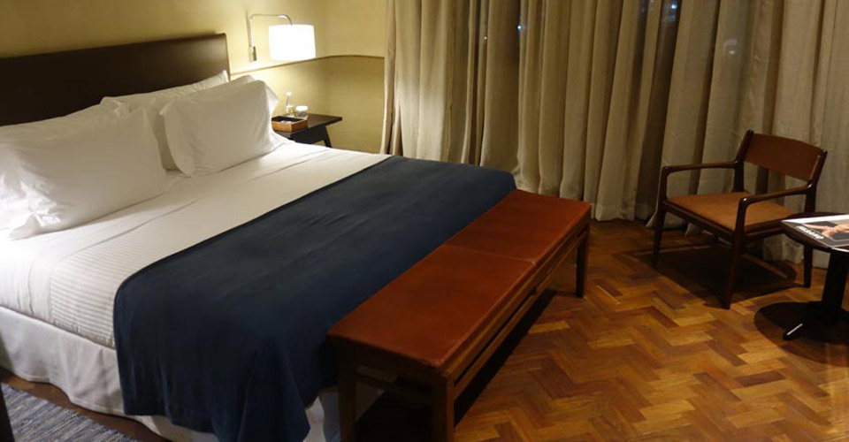 A superior room at Fasano Salvador