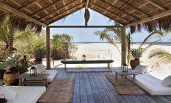 The bohemian beach bar of Uxua Casa, Trancoso