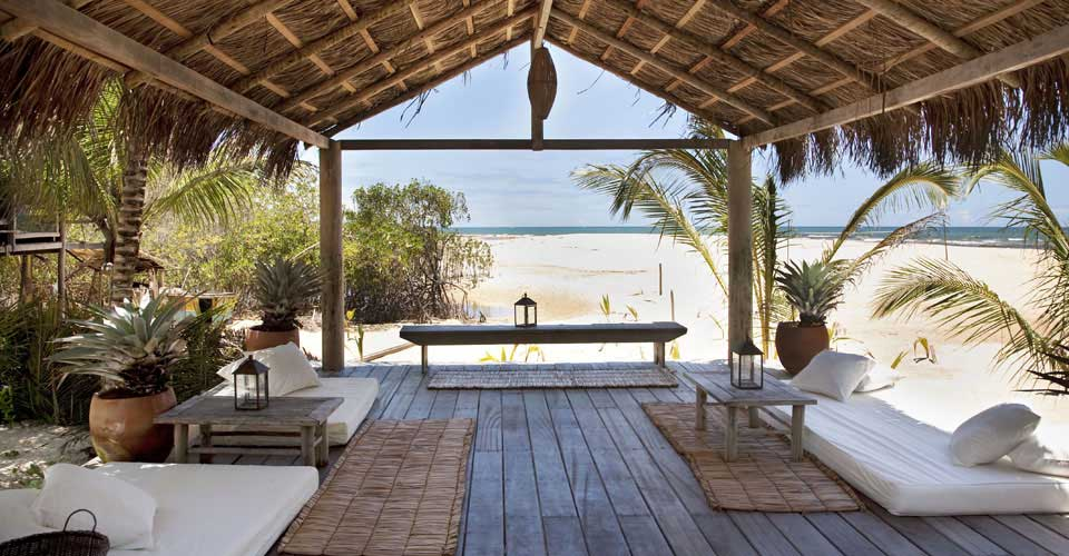 The bohemian beach bar of Uxua Casa, Trancoso