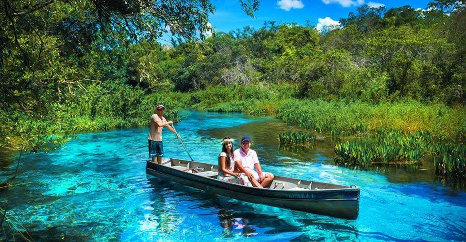 Boating in Bonito - Luxury holidays to Brazil